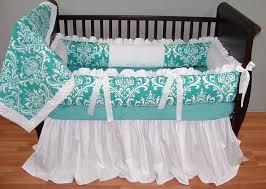 Teal Crib Bedding Sets Tinkerbell Baby Bedding Crib Set Tokida For