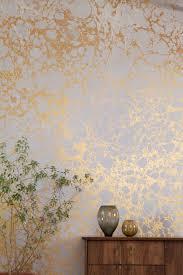 metallic rose gold wall paint improbable calico wallpaper 2 wabi