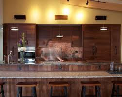 Maine Kitchen Cabinets Walnut Kitchen Cabinet Houzz