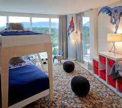 55 wonderful boys room design ideas digsdigs if your boys love comics then simple wall murals could make their room a happy place