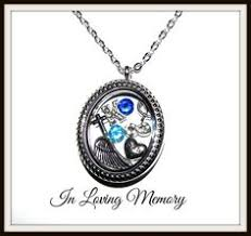 in loving memory lockets in memory of my memorial necklace https www etsy listing