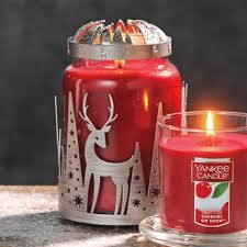 cherries on snow large classic jar candles yankee candle