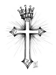 cross and crown by morobles on deviantart