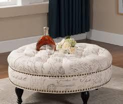 Black Tufted Ottoman Living Room Oval Ottoman Black Tufted Ottoman Coffee Table Giant