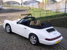 1990 porsche 911 carrera 2 classic chrome porsche 964 carrera 2 cabrio 1990 g white