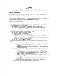 Server Job Description Resume Sample Download Cashier Duties And Responsibilities Resume