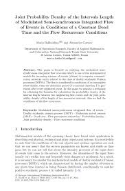 tell me about yourself essay sample joint probability density of the intervals length of modulated inside