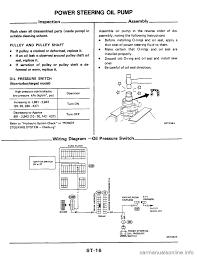 nissan altima 2016 power steering fluid engine nissan 300zx 1984 z31 steering system workshop manual