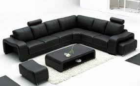 Black Leather Corner Sofa Corner Sofa Leather Home And Textiles