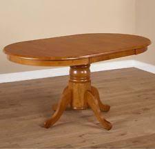 Pedestal Dining Table For 6 Pedestal Dining Table Ebay