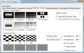 color pattern generator free htpc calibration test pattern generator avs forum home