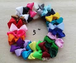 big bows for hair 5 inch bows big bow hairbow big hair bows large hair bow big