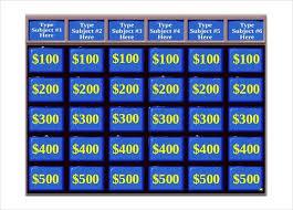 jeopardy template powerpoint jeopardy powerpoint templates