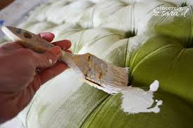 Painting Fabric Upholstery Tutorial For Using Chalk Paint On Fabric Sincerely Sara D
