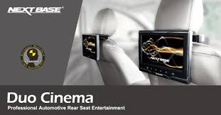 duo cinema nextbase rear seat monitors dash cams dvr