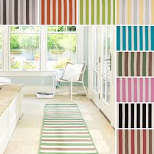 Striped Kitchen Rug Striped Runner Rug Cievi Home