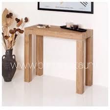 tavoli consolle allungabili prezzi tavolo consolle allungabile in rovere a cardano al co