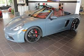 porsche graphite blue interior 2017 porsche 718 boxter s luxurious opportunity