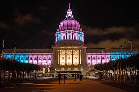sf city hall lights emergency protest set in castro after trump announces transgender