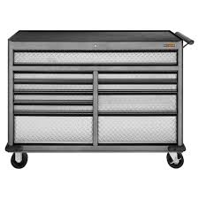 home depot tool chest black friday gladiator premier series 52 in w 10 drawer rolling tool chest
