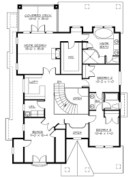 craftsman bungalow floor plans craftsman bungalow with options 2356jd architectural designs