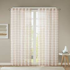 Bed Bath Beyond Sheer Curtains Buy Burnout Curtain From Bed Bath U0026 Beyond