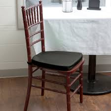 black chiavari chairs lancaster table seating black chiavari chair cushion 1 3 4 thick