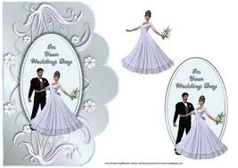 Groom To Bride Card Bride And Groom Scalloped Edge Wedding Card Cup199675 376