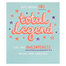 buy paperlink total legend birthday card online at johnlewis com