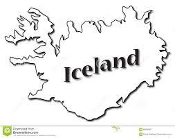 Iceland On Map Iceland On Map Stock Illustration Image 89082907