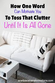 is livingroom one word how one word can motivate you to toss that clutter