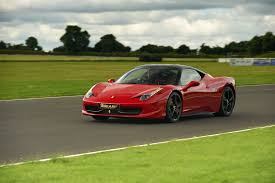 ferrary driving 458 italia driving experience from 6th gear