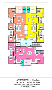 floor plan and furniture placement pereybere u2013 ashiana 2 0 first second third floor plans
