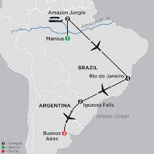 Map Of The Amazon River Amazon Vacations Cosmos Affordable Tours