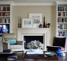 ideas for decorating a living room with fireplace best