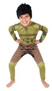boys classic hulk superhero fancy dress costume kids costumes
