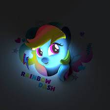 equestria daily mlp stuff giant 3d light up wall decal ponies my little pony 3d wall deco light twilight sparkle