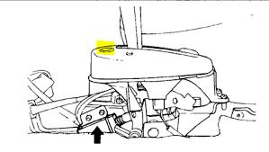 2001 hyundai tiburon transmission problems my gear shift is stuck on park in my hyndai