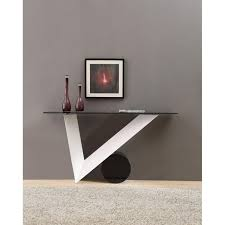 Black Console Table Modrest Bauhaus Modern White And Black Console Table By Vig