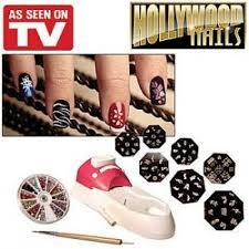 hollywood nail art system set