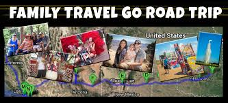 Route 66 New Mexico Map by West Route 66 Road Trip Overview Family Travel Go