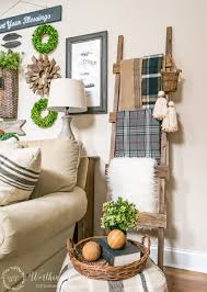 Living Room Corner Decor by Farmhouse Diy Home Decor Ideas Rustic Ladder Worthing And