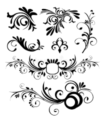 style ornaments vector stock image image 5515421