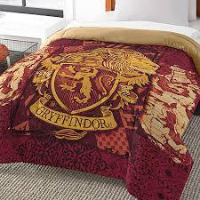 Maroon Comforter Harry Potter House Comforters Thinkgeek