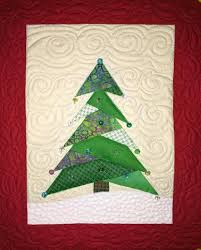 mini christmas tree quilt craftsy sewing pinterest