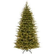 led artificial christmas trees christmas trees the home depot
