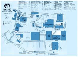 Usc Parking Map Directions Cares Serves Patients Of L A County U S C Medical