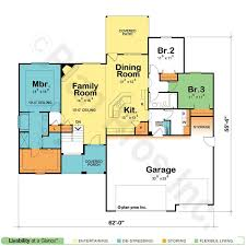 single floor home plans best 25 one story homes ideas on great rooms outside