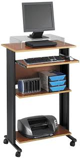 corner stand up desk amazon com safco products 1923cy muv 45 h stand up desk fixed