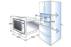 dimension caisson cuisine caisson de meuble de cuisine marvelous dimension meuble four